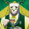 Elias Ainsworth tomando sangue