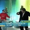 Gilberto Barros dançando com Kasinão