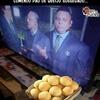 Ronaldo de olho no pão de queijo