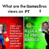 As opiniões dos irmãos Gomes