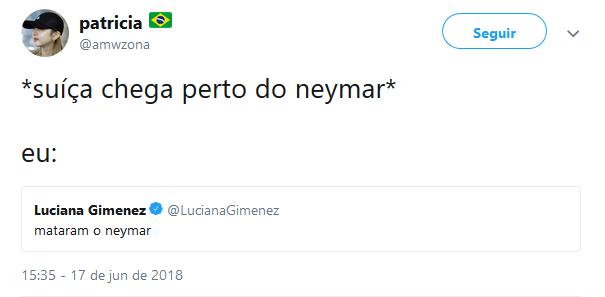 Quando a Suíça chega perto do Neymar