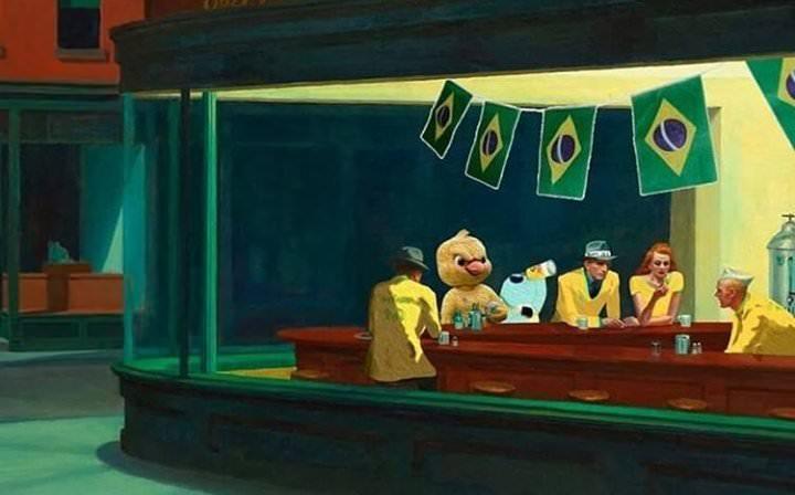 Sentado Aqui No Bar
