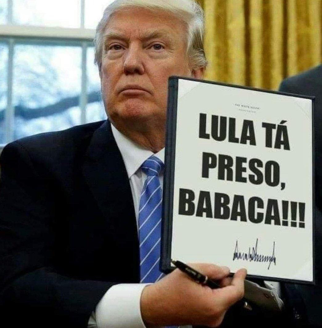 Mensagem de Trump
