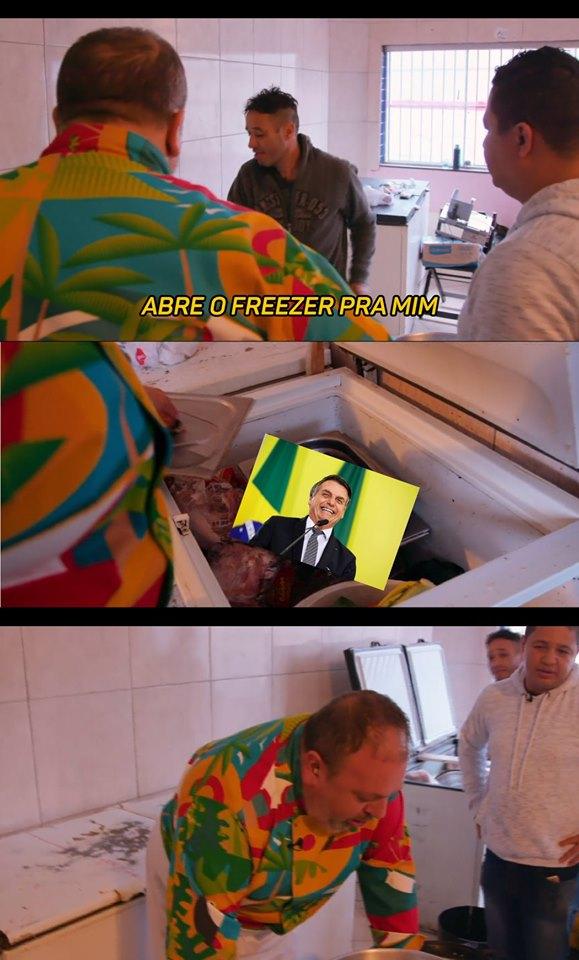Bolsonaro no Freezer